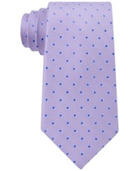 Club Room Men's Polka Dot Tie Only At Macy's Lilac