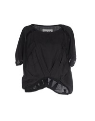 5Preview Shirts Blouses Women Black