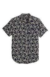 Imperial Motion Vacay Woven Shirt Navy Multi