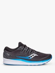 Saucony Ride Iso 2 'S Running Shoes Black Blue
