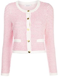 Milly Tweed Knit Cropped Jacket 60