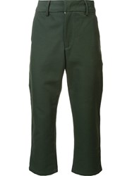 Bristol Cropped Trousers Green