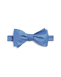 Bloomingdale's The Men's Store At Micro Square Neat Self Tie Bow Tie 100 Exclusive Light Blue