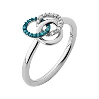 Links Of London Treasured Silver And Diamond Ring Silver