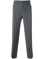 Canali Classic Fit Trousers Grey