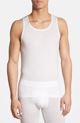 Tommy John 'Second Skin' Tank Top White