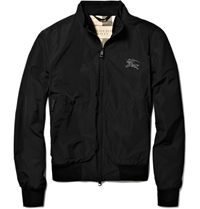 Burberry Showerproof Bomber Jacket Black
