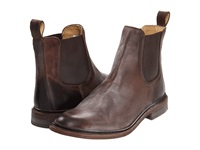Frye James Chelsea Dark Brown Antique Pull Up Men's Pull On Boots