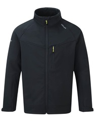 Tog 24 Reactor Casual Showerproof Full Zip Windbreaker Black