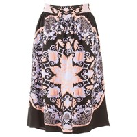 Ekaterina Kukhareva High Waisted Skirt Black Pink Purple