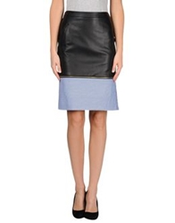 Boy By Band Of Outsiders Leather Skirts Black