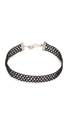 Lacey Ryan Jet Choker Necklace Black