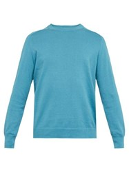Hope Compose Cotton Jersey Sweater Blue