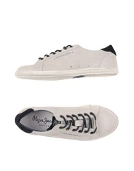 Pepe Jeans Footwear Low Tops And Trainers Men Ivory
