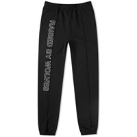 Raised By Wolves Sweat Pant Black