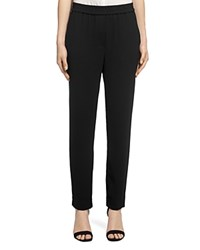 Whistles Elyse Crepe Trousers Black