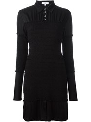 Opening Ceremony Shirt Dress Black