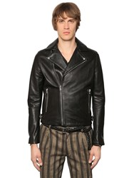 The Kooples Smooth Leather Biker Jacket