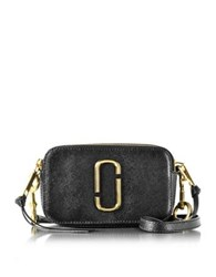 Marc Jacobs Black Snapshot Small Leather Camera Bag