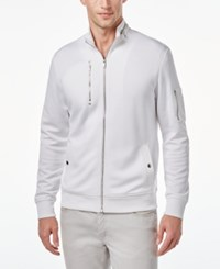 Inc International Concepts Men's Horizon Diamond Quilted Jacket Only At Macy's White Pure