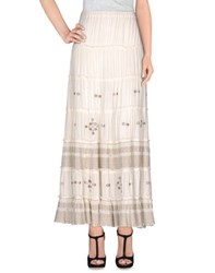 Denim And Supply Ralph Lauren Skirts Long Skirts Women Ivory