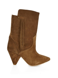 Jerome Dreyfuss Bonnie Fringed Suede Boots