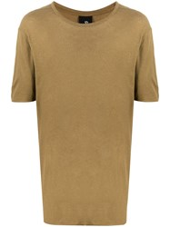 Thom Krom Solid Color T Shirt Green