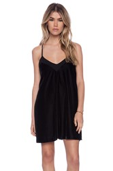 Autograph Addison Tony T Strap Swing Dress Black