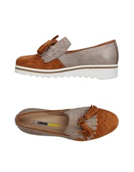 Manas Design Loafers Brown