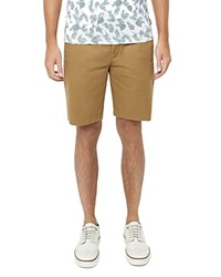 Ted Baker Corsho Relaxed Fit Chino Shorts Natural