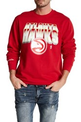 Mitchell And Ness Nba Hawks Crew Neck Pullover Multi