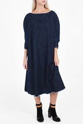 Rachel Comey Denim Midi Dress Blue