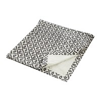 Day Birger Et Mikkelsen Diamond Print Blanket Black White 140X140cm