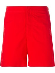 Orlebar Brown Classic Swim Shorts Red