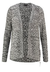 Vila Vilika Cardigan Ebony Dark Grey