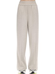 Agnona Wool And Cashmere Flannel Pants Light Beige