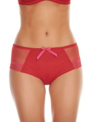 Freya Pulse Short Briefs Scarlet