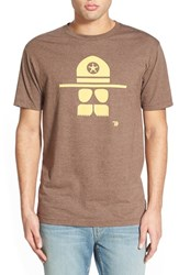 Men's Ames Bros. 'Cop Stache' Graphic T Shirt