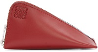 Loewe Red Leather Coin Pouch