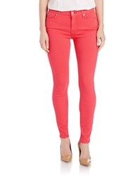 7 For All Mankind Slim Illusion Jeans Cherry Red