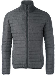 Dirk Bikkembergs Padded Jacket Grey