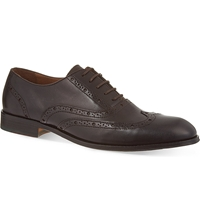 Kurt Geiger Checker Oxford Brogues Brown
