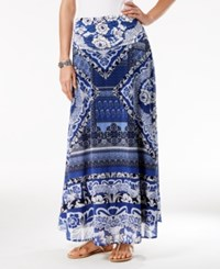 Inc International Concepts Printed Convertible Maxi Skirt Only At Macy's Botto Patchwork