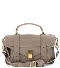 Proenza Schouler Ps1 Tiny Leather Tote Grey