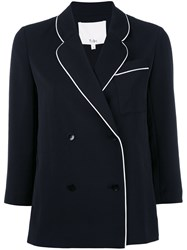 Tibi Fitted Jacket Black