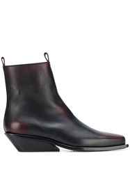Ann Demeulemeester Square Toe Chelsea Boots 60