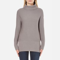 Barbour International Women's Hoppe Knitted Jumper Storm Grey