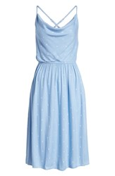 Volcom Mystic Mama Dress Misty Blue
