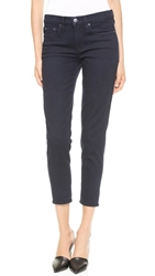 Vince Mason Relaxed Rolled Jeans Od Blue