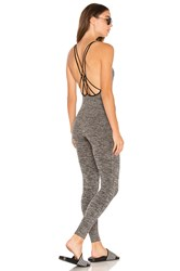 Free People Barely There Bodysuit Gray
